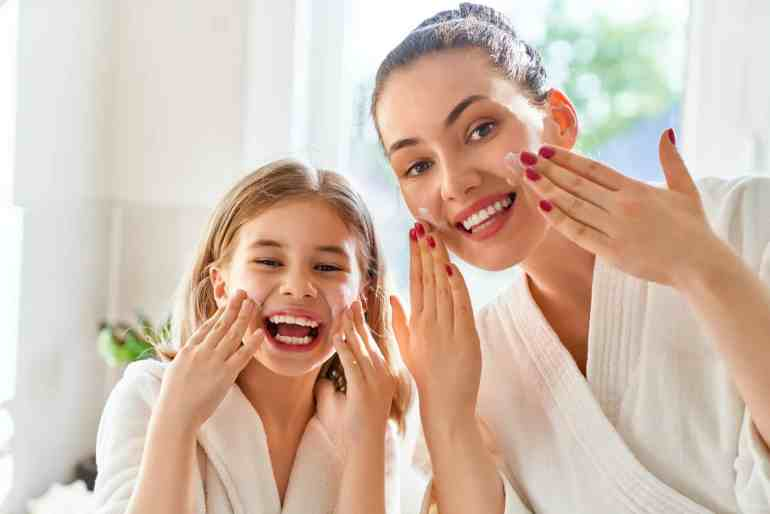 mother daughter skin care