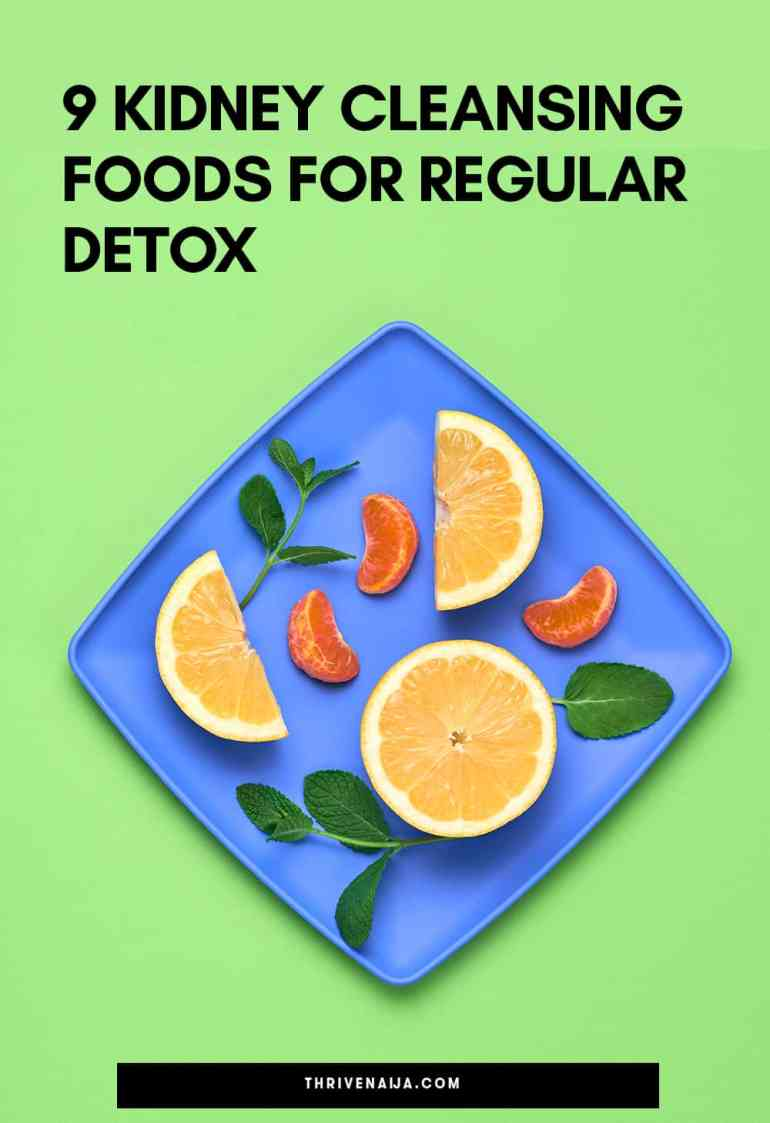 kidney cleansing foods