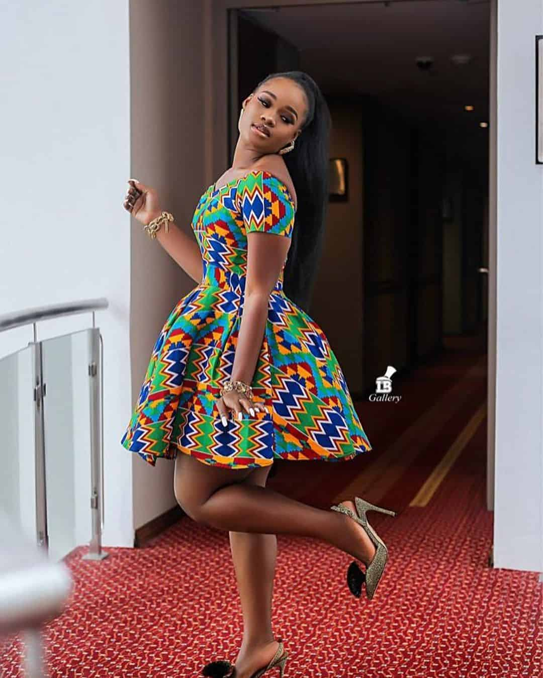 Ankara Styles 125 Kente Special: 45 Ankara Short Gown Styles Designs 2019 (Updated Weekly