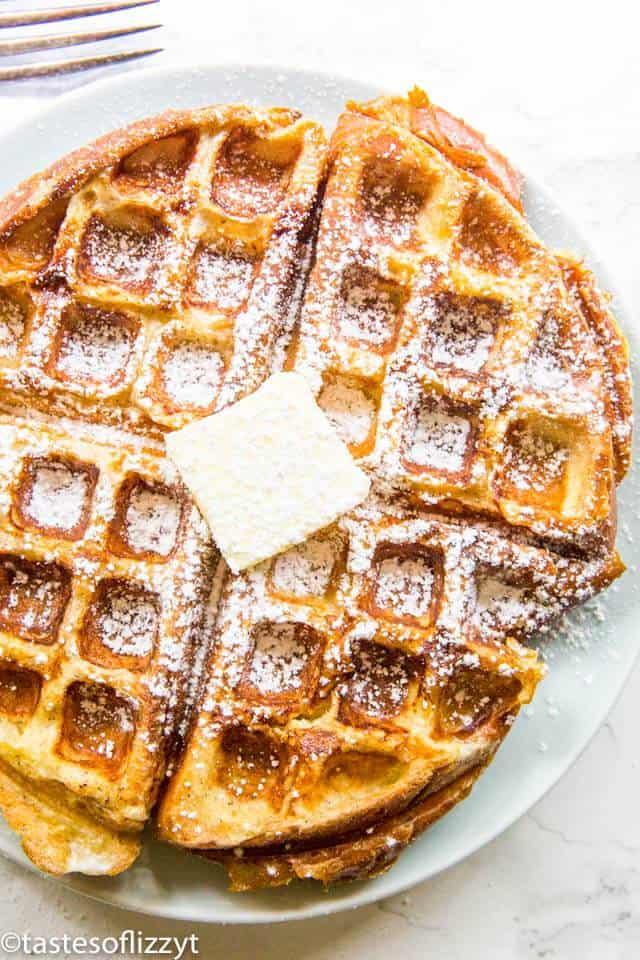 Apple Stuffed French Toast Waffle Recipe