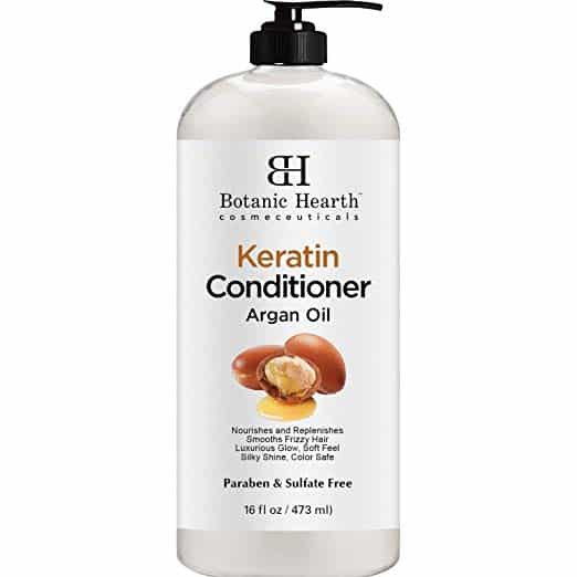 Keratin Conditioner with Argan Oil by Botanic Hearth