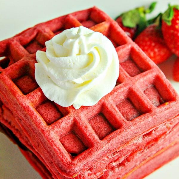 Red Velvet Waffle Recipe