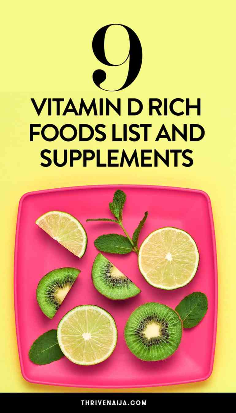9 Vitamin D Rich Foods List And Supplements