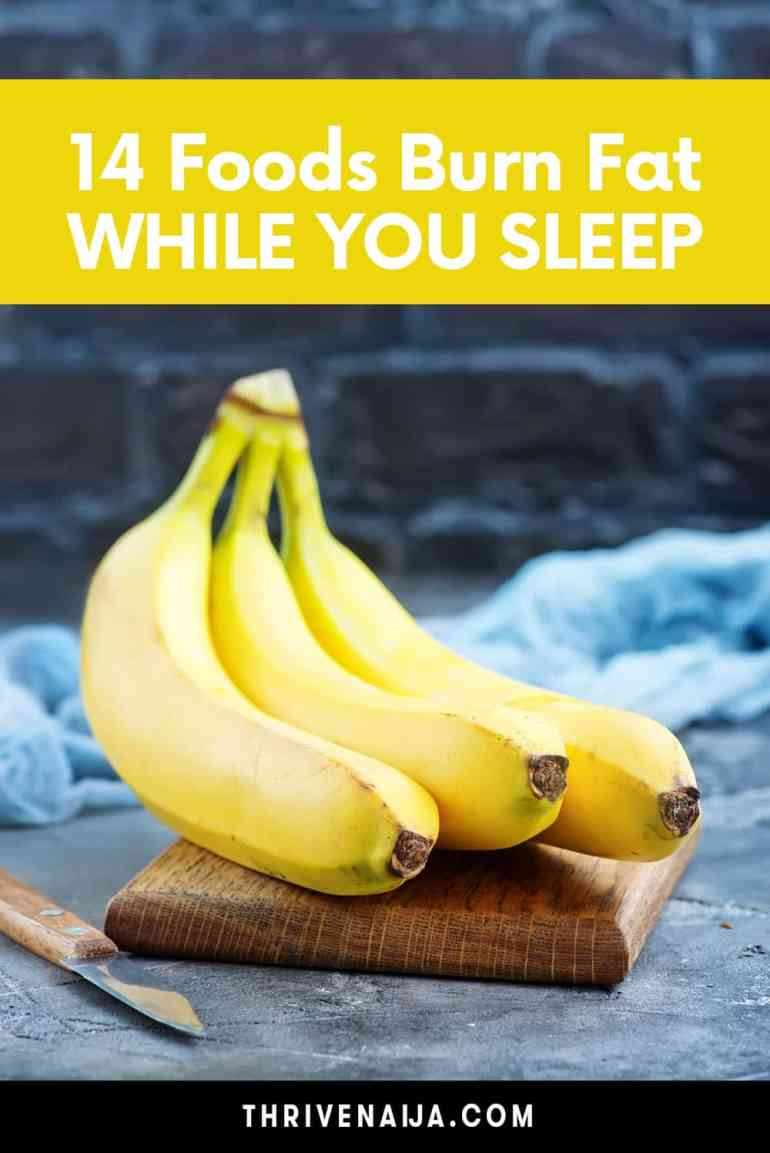 foods that burn fat while you sleep