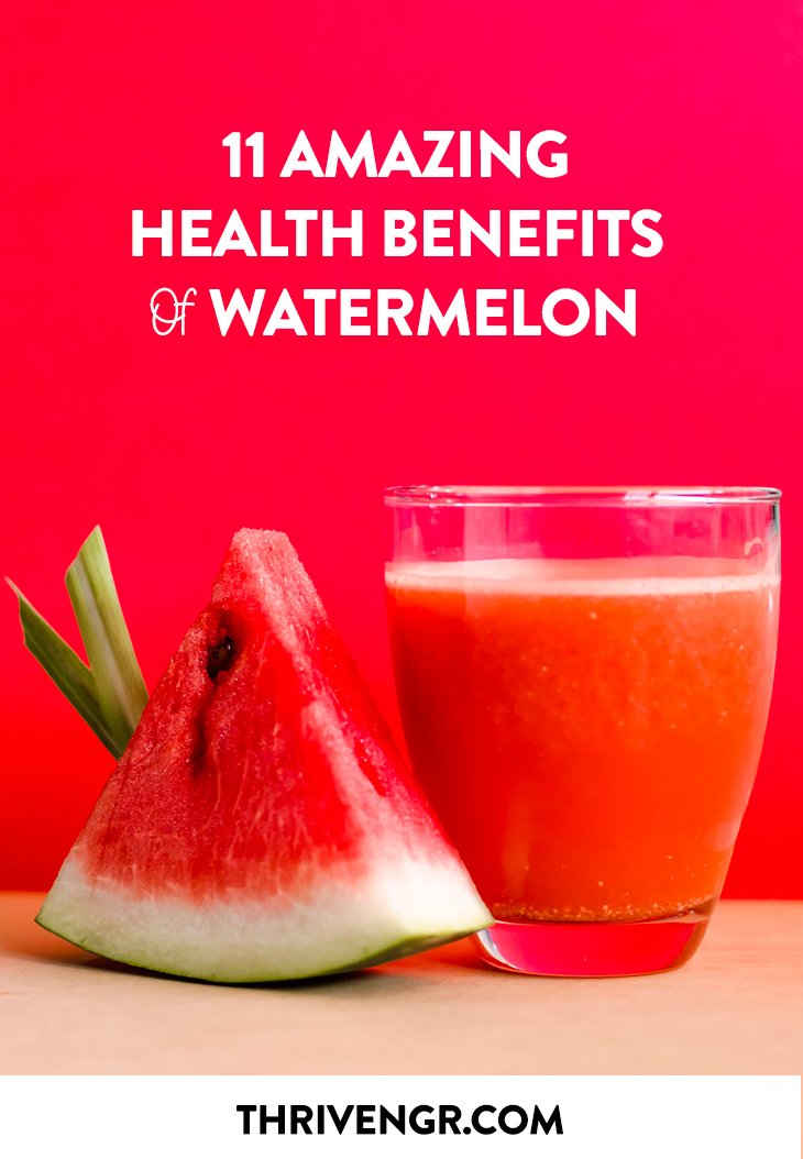 11 Amazing Health Benefits of Watermelon