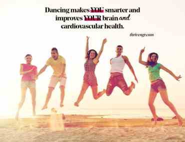 benefits of dancing thrive nigeria