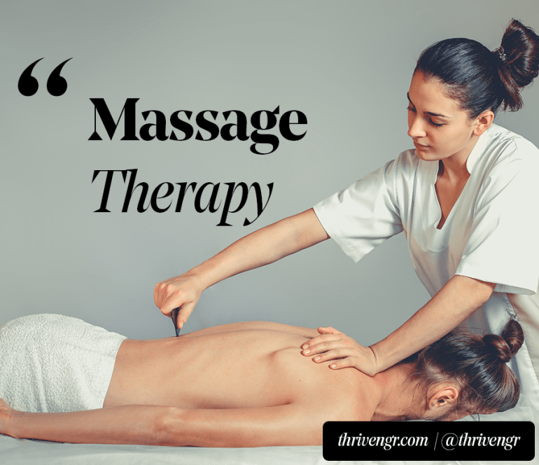 massage therapy menstrual cramps
