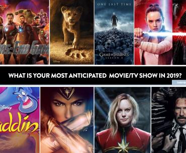 anticipated movies 2019