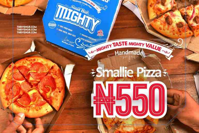 Dominos Just Launched The Smallie Pizza For ₦550 & We're Super Excited About It