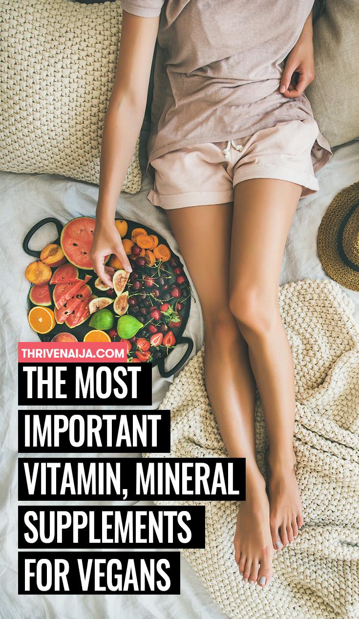Mineral Supplements For Vegans