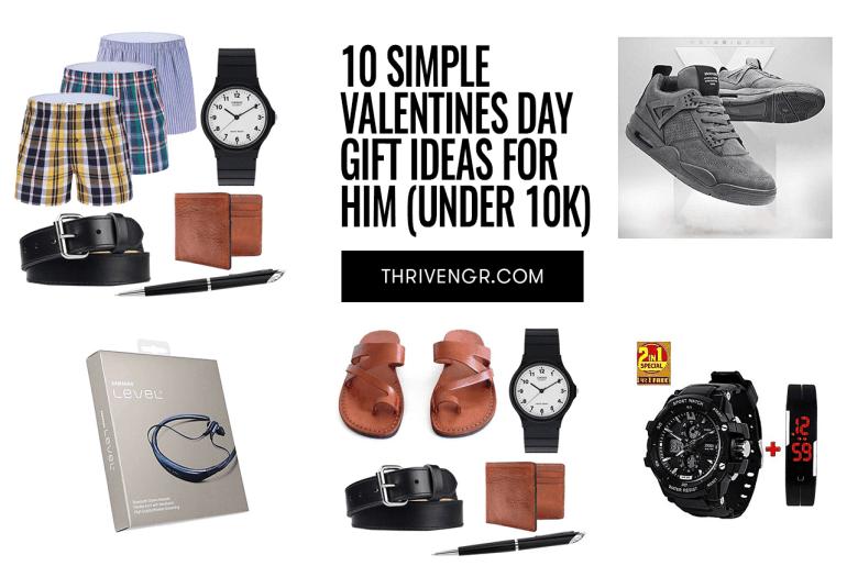 10 Valentines Day Gift Ideas For Him (Under 10k)