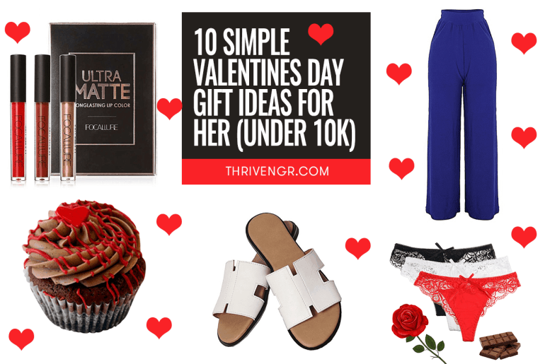10 Valentines Day Gift Ideas For Her (Under 10k)