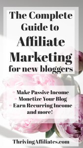 Thriving Affiliates helps bloggers and online business owners monetize their sites with affiliate marketing. Affiliate Marketing for Bloggers, Online Business Owners & Entrepreneurs. Learn how to add more income to your blog or online business with affiliate marketing. #thrivingaffiliates #affiliatemarketing