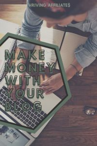 Want to make money with your blog? Check out this (huge!) free tutorial and Learn How to Start a Blog That Makes Passive Income With Affiliate Marketing (and more) on ThrivingAffiliates.com #thrivingaffiliates #howtostartablog #afilliatemarketingideas