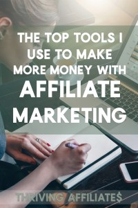 Check out these top affiliate marketing tools I couldn't run my business without! Thriving Affiliates teaches all about affiliate marketing. #thrivingaffiliates #affiliatemarketing