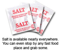 salt packets