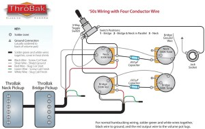 ThroBak 50's 4 conductor wiring