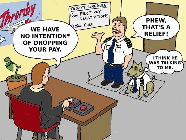 Pilot Pay Negotiations