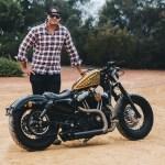 El Trineo Chris Harley Davidson 48 Throttle Roll