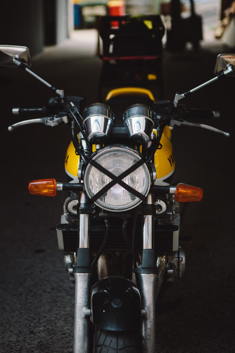 How To Be A Cafe Racer Throttle Roll