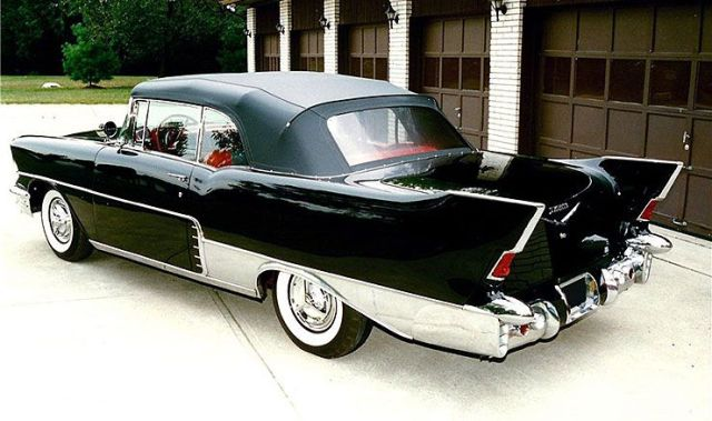 1957 Chevrolet El Morocco convertible rear