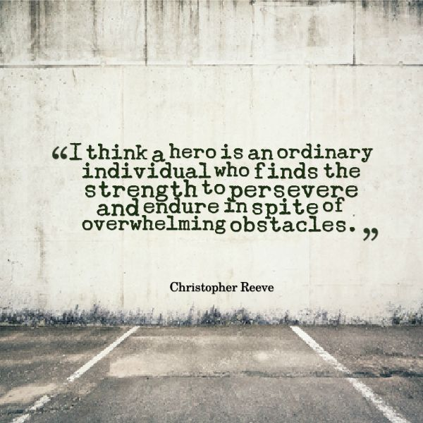 chris reeve hero