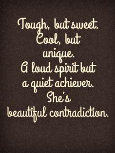 beautiful contradiction
