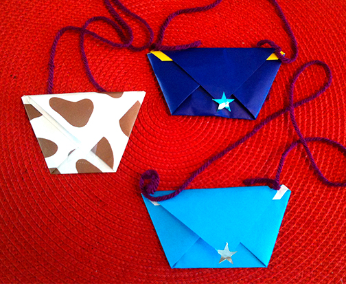 Purses craft for ONE BRIGHT RING