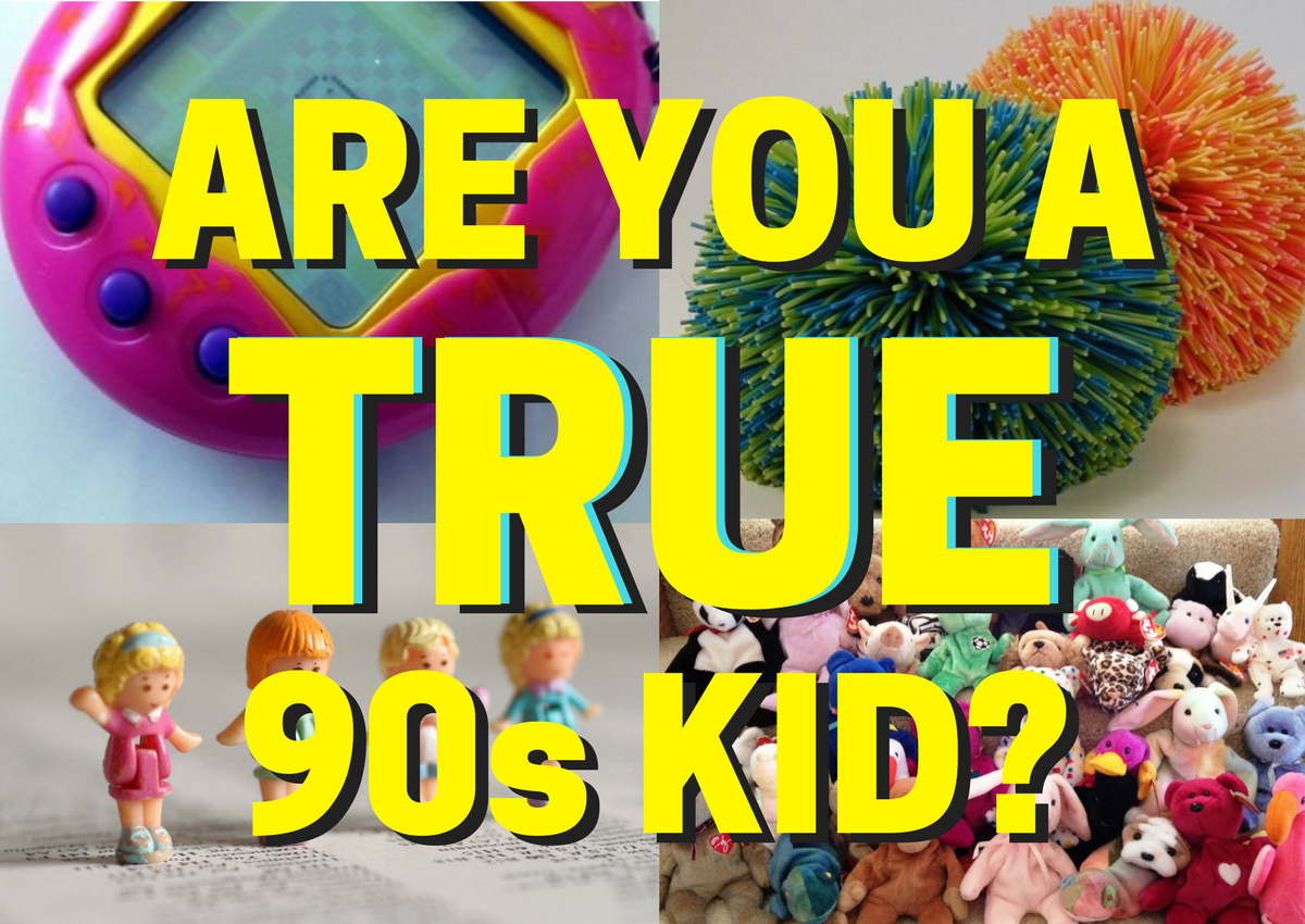 Only A Real 90s Kid Can Ace This Quiz