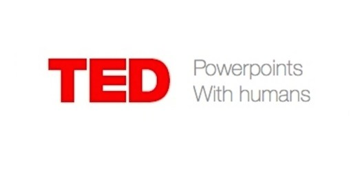 TED power points with humans