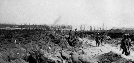 http://commons.wikimedia.org/wiki/File:Road_to_Pozieres_August_1916_(AWM_EZ0084).jpg