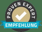provenexpert empfehlung dienstleister thrust marketing
