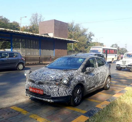 Tata Altroz hatchback spotted testing in production avatar - Launch In 3 Months