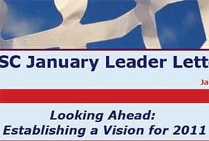 January 2011 Leader Letter
