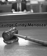 Judge Cindy Mendoza