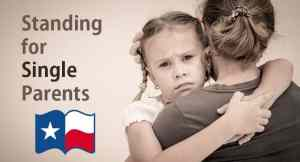 Relief for Single Parent Families Pending in Senate Committee