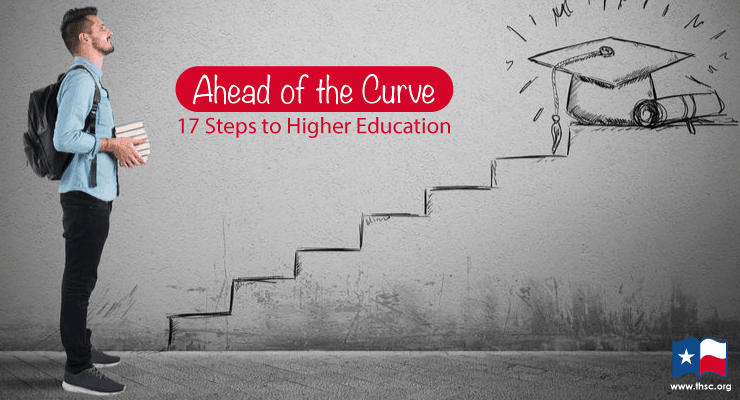 Ahead of the Curve: 17 Steps to Higher Education