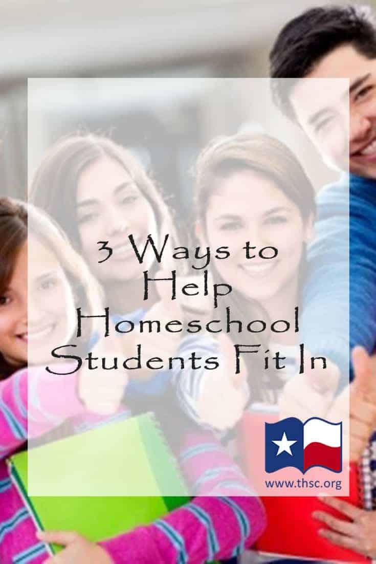 3 Ways to Help Homeschool Students Fit In