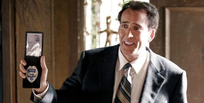 The Wicker Man (2006) Directed by Neil LaBute Shown: Nicolas Cage (as Edward Maulis)