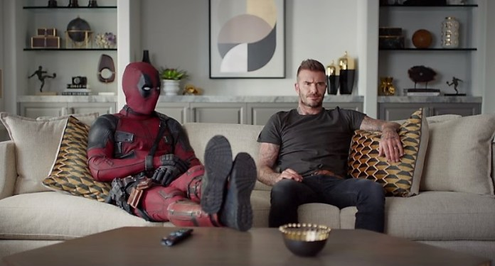 Deadpool 2 David Beckham