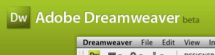 Dreamweaver CS4 beta