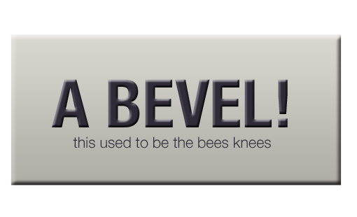 Bevel & Emboss