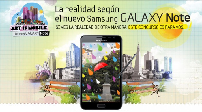 Art Is Mobile, consurso de Samsung