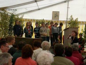150. Geburtstag von Clara Zetkin in Wiederau