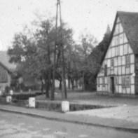 Das ehemalige Haus Flentje auf dem heutigen Dorfplatz