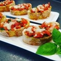 Italiaanse bruschetta