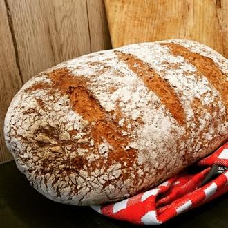 Authentiek volkorenbrood
