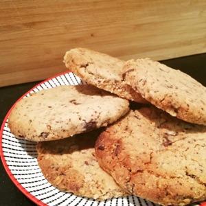Cookies met chocolade