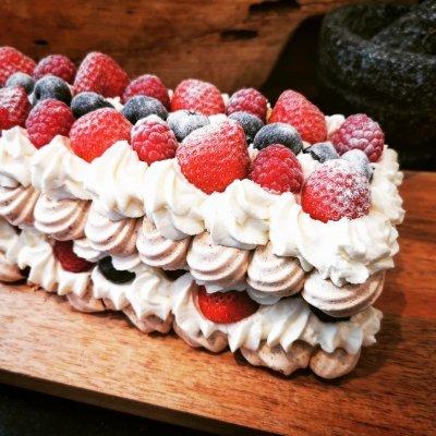 Chocolade meringuetaart