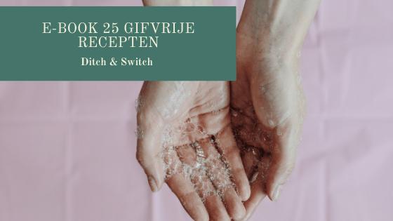e-book gifvrije recepten